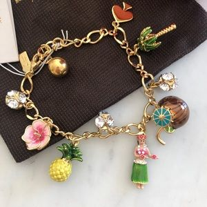 Kate Spade How Charming Hawaii Bracelet NWT